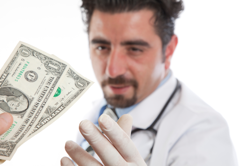 "65% of doctors are getting cash ""kickbacks"" from big pharma"